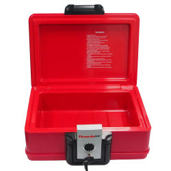 Guarda 개인적인 B5 서류상 편평한 빨간 불꽃 상자 플라스틱