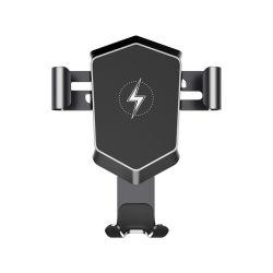 Il migliore supporto di alluminio munisce il caricatore senza fili dell'automobile del collegamento di gravità