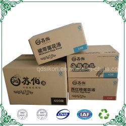 Двойные стенки коробки из гофрированного картона Strong упаковке для пластиковой бутылки