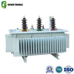 Hermetically-Sealed Oil-Immersed transformadores de distribución de aleación amorfa