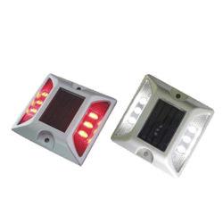 Luzes da Plataforma Solar, alimentada a energia solar 6 IP68 LED garagem à prova de luz LED de acoplamento, o LED de luz de advertência de segurança do tráfego rodoviário de luz do Prisioneiro