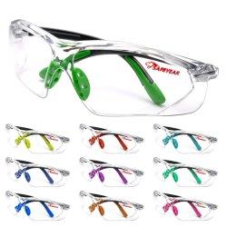 CE En166 نظارات واقية من الضباب للحماية من العين، نظارات واقية صناعية بالجملة ANSI لحشم النظارات الواقية