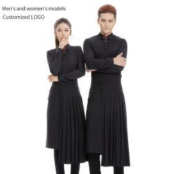 ملابس العمل السوداء من نوع النادل الاسكتلندي