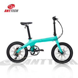Licht Elektro-Fahrrad Falten China Fabrik Preis Fahrrad Carbon Fiber Exklusives Modell mit CE