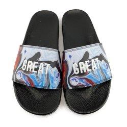 Resistente all'uso dei pattini di cuoio dell'uomo di commercio estero di Greatshoe progettato per i sandali dei pistoni degli uomini