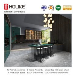 Holike Customized Luxury Home Furniture Lacquirer New Modern Kitchen Cabinet