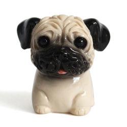 Personalizzazione Promotional miniatura forma del cane Figurine ornamenti Home regali decorativi
