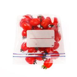حقيبة قفل بسحّاب مطبوعة مخصصة لحزمة تغليف بالتجزئة قابلة لإعادة فقدان شطيرة فريزر حقيبة مغرفة بلاستيكية شفافة لتخزين الطعام