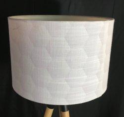 مظلة سداسية ضحلة حديثة من الجاسلوري لكل من الطاولة و مصباح الأرضية مع غير ELC