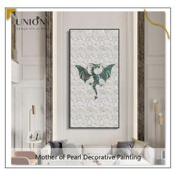 صور الديكور الحديثة الجدار الأم لؤلؤة لوحة الرسم قماش فن حائط الرسم