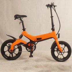 Bateria de lítio Powered Bicicleta Dobrável Eléctrico Dobrável aluguer