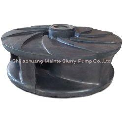 Parti pompa centrifuga per impasto per attività minerarie abrasive con rivestimento in gomma