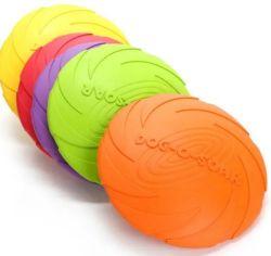 Venta caliente suave seguridad Nueva Eva juguetes mascotas perro juego de pelota el anillo y el Frisbee