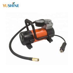 China-Hersteller 12 Volt-Auto-Luftverdichter-Gummireifen-Luftpumpe mit Licht