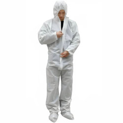 Type 5/6 Coverall Factory Hot Selling Safety Protective Anti-Static Against Droge particle lichte Splash Industriële asbestverwijdering SMS wegwerpoverall Pakken