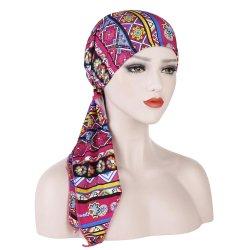 Gemakkelijke de Dames van vrouwen dragen de pre-Gebonden HoofdKleuren van de Mengeling van Bandanas GLB van de Sjaal van de Omslag voor de Dames van Vrouwen