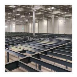 Estructura de acero de diseño libre Entresuelo para almacenamiento de nave industrial