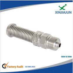 Inconel 625/825 máquinas CNC tubo em aço inoxidável Conexão Giratória, Misto NPT de acoplamento de tubos