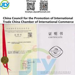 China certificado consejo para la Promoción del Comercio Internacional China de la Cámara de Comercio Internacional