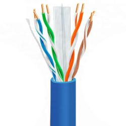 Cat6 cable LAN UTP Easy Pull Box 305m Prueba 4pair Cable Cobre de Red 24 cable UTP CCTV de seguridad CAT6 Cable de la cámara 1000ft cable LAN cable de red