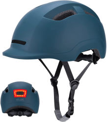 La CE aprobó la CPSC Bicicleta/Bicicleta/Skateboard patinaje/Deporte/Bicicleta casco con luces LED