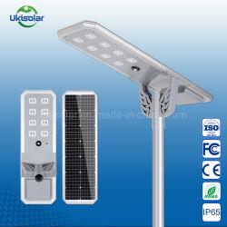 우키솔라 아웃도어 30W 40W 60W 80W 100W 120W 140W 170W CE RoHS를 포함한 태양광 전력 에너지용 LED 플러드 라이트 FCC 인증