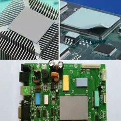 Hochtemperaturwiderstand-Silikon-Gummiauflage CPU, die thermische Auflage abkühlt