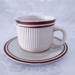 كأس جلعز ملون منقوش على الطراز الغربي ومجموعة سوسير من الزبرا المحار أدوات المائدة الخاصة بكوب الأسرة
