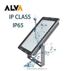 إنارة خارجية عالية الجودة IP65 بقوة 50 واط مقاومة للماء عالي القدرة مقاومة للماء إنارة حديقة عالية القدرة ثلاثة أضواء أمان، 200 واط ساطع ضوء LED غامرة