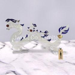 중국 동물성 모양 장식적인 200ml는 보드카 유리병 제조자를 비운다