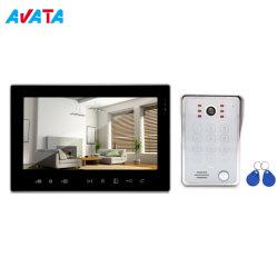 Novo Ahd1080p noite clara visão de intercomunicação de campainha de Vídeo IP65 Fio à prova de telefone da porta de vídeo