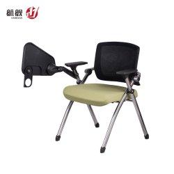 Plastiktrainings-Stuhl-Kursteilnehmer-Stuhl für Konferenzzimmer mit faltbarem Tisch