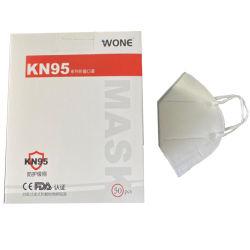 マスクN95 KN95 FFP2の表面顔の使い捨て可能なPPEは微粒子のマスクの卸売価格の塵Facemaskにガウンを着せる