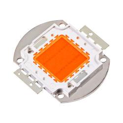 고전력 10W 20W 50W 100W 풀 스펙트럼 380nm - 850nm 화이트 코브 LED 칩 모듈