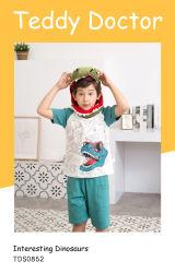 Vestiti belli dei bambini di usura di sonno dei dinosauri di usura di estate di svago dei capretti
