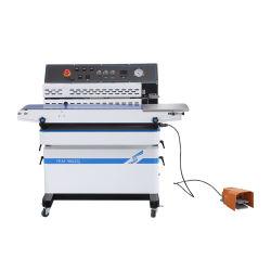 Frm-980zq Hualian fabrikant Nieuw ontwerp multifunctionele stikstof lucht inkt coding Print Heat Band Sealer 220V/110V