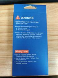 Desinfección de portátiles de la varita de viaje de luz UV LED Lámpara UVC con USB de carga para el Hotel Auto Hogar armario Baño Zona de mascotas