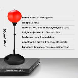 Velocidade de boxe Ball Deluxe infantis Autoportante Reflex saco de boxe com luvas de Bomba Manual da Altura Ajustável