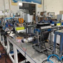Медицинская не из пыли одноразовые производства класс FFP2 класс FFP3 KN95 N95 складная подсети автоматическая линия производства хирургических маску для лица бумагоделательной машины