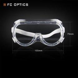 Fcg007 4つの穴と保護透過安全ガラスのゴーグル