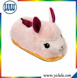 工場柔らかい詰められた漫画の動物のカスタムプラシ天のおもちゃの子供の冬の女性靴