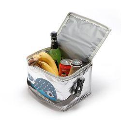 Sacchetto termico caldo dell'alimento del dispositivo di raffreddamento di corsa di festa con il marchio