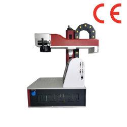 Export nach Kanada Tabletop Fiber Laser Marking Machinery 20/30/50W für Metalle