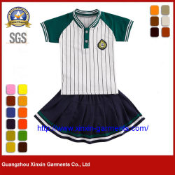 Uniforme da scuola personalizzata informale per la scuola media Gli studenti possono prenotare pantaloni e magliette made in China (U103)