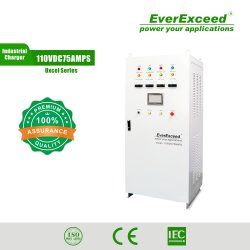 Everexceed 110V100A Uxcel シリーズ産業用バッテリ充電器、高周波 整流器 /DC UPS