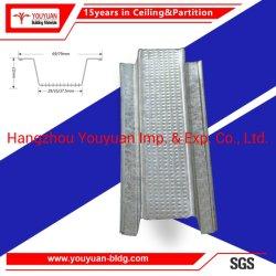 Structure légère en acier Profils de quille de canal de plafond en métal