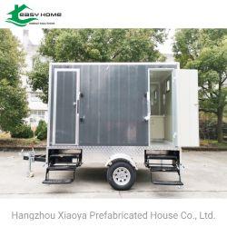 Mobile connecté d'égout (toilettes portables modulaires XYT-01)