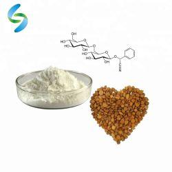 Основная часть витамина B17 порошок 98%, который обусловлен наличием амигдалина Laetrile/горький абрикос экстракт порошок/горького миндаля извлечения