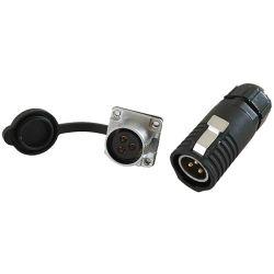 3 fabbricazione impermeabile del Jack IP68 della spina del connettore di potere di Pin
