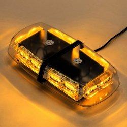 Lumière stroboscopique, éclairage de secours pour les véhicules, Gyrophare pour les chariots de feux de détresse d'urgence, 36 Watts, 12V, LED Mini-bar avec une forte magnétique de lumière clignotante